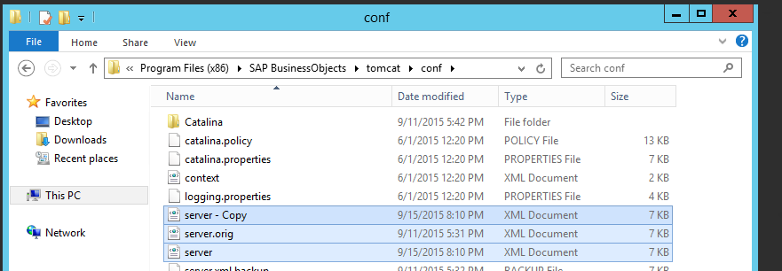SAP BI Tomcat Best Practice Configuration - Welcome to Our Business